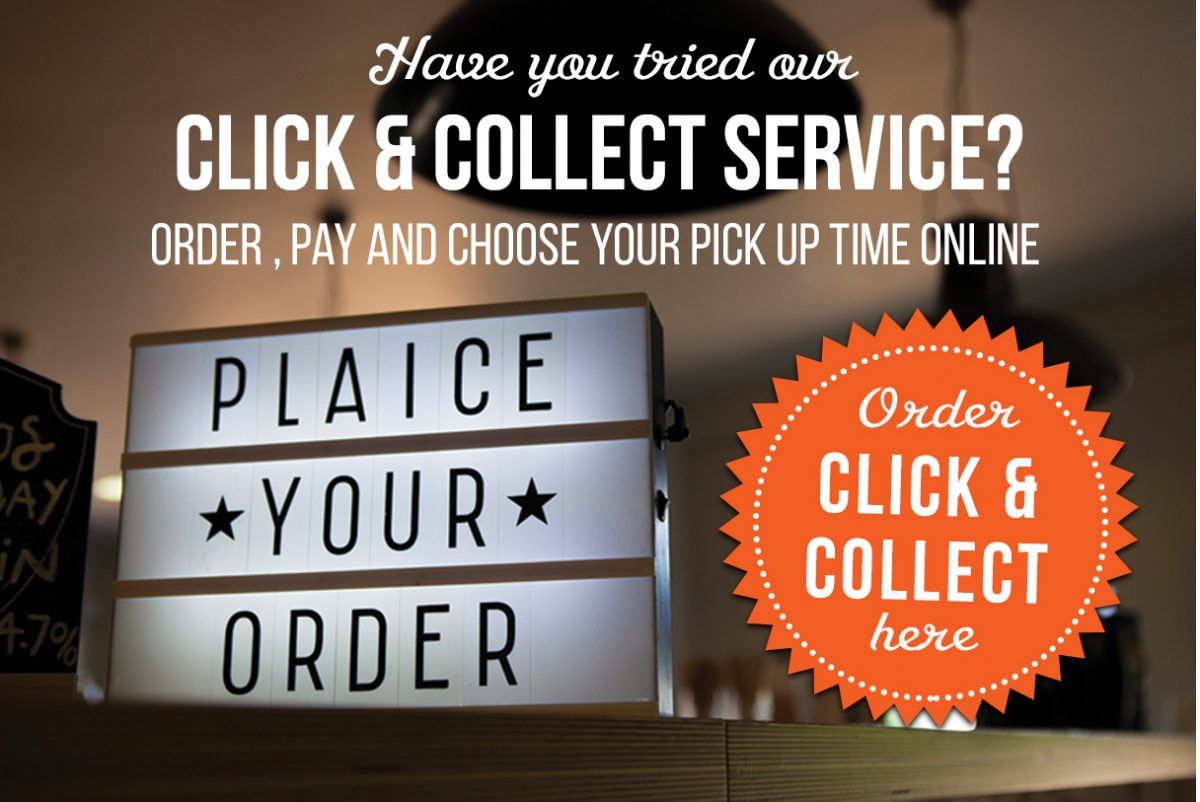 Click & Collect Order Button